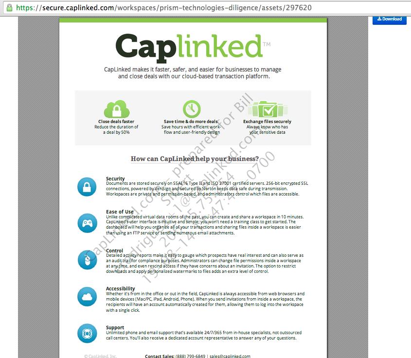 Watermarking – CapLinked Support